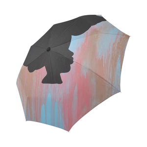 Natural Beauty Automatic Foldable Umbrella