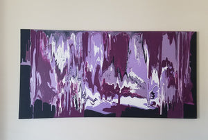 Original Painting- Purple Frequency