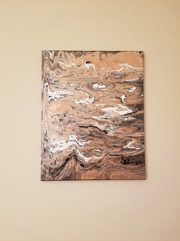 Original Painting - Rose Gold Sands