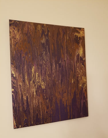 Original Painting - Royal Gold