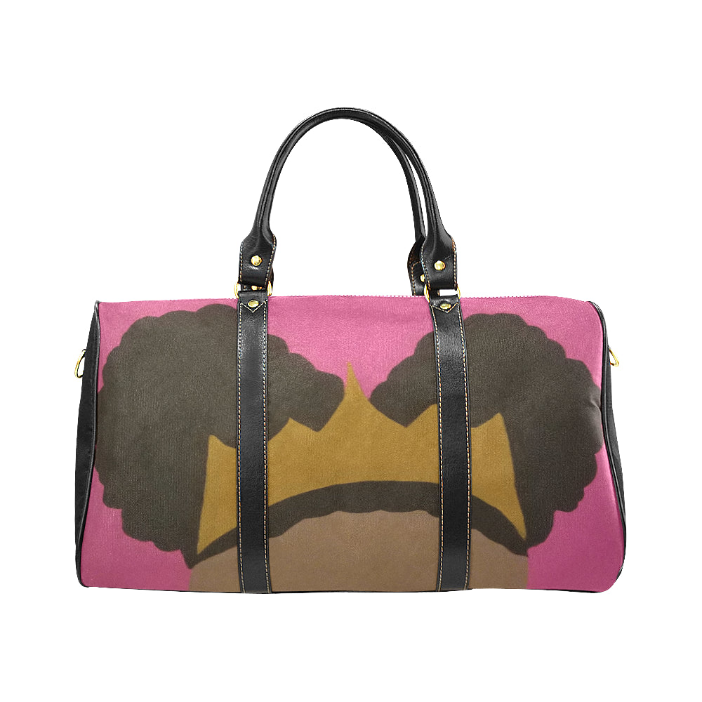 Afro Puff Princess Travel Bag