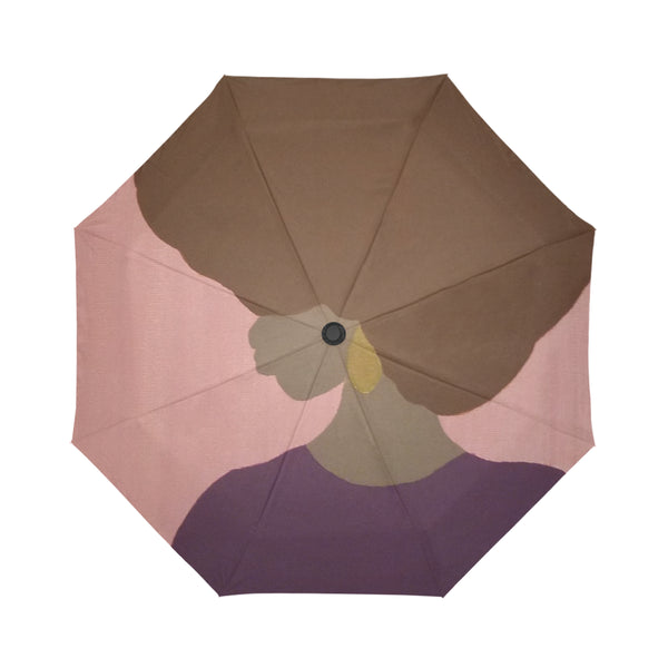 Lovely Automatic Foldable Umbrella