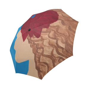 Como La Flor Automatic Foldable Umbrella