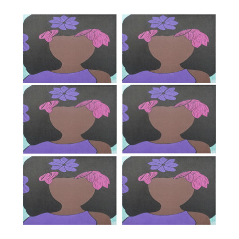 "Sasha Placemat Placemats 14"" x 19"" (Set of 6)"