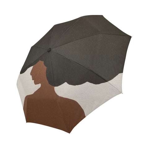 Afro Love II Automatic Foldable Umbrella