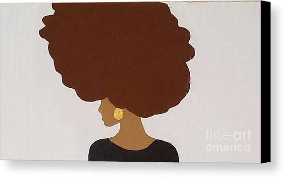 Canvas Print - Afro Love