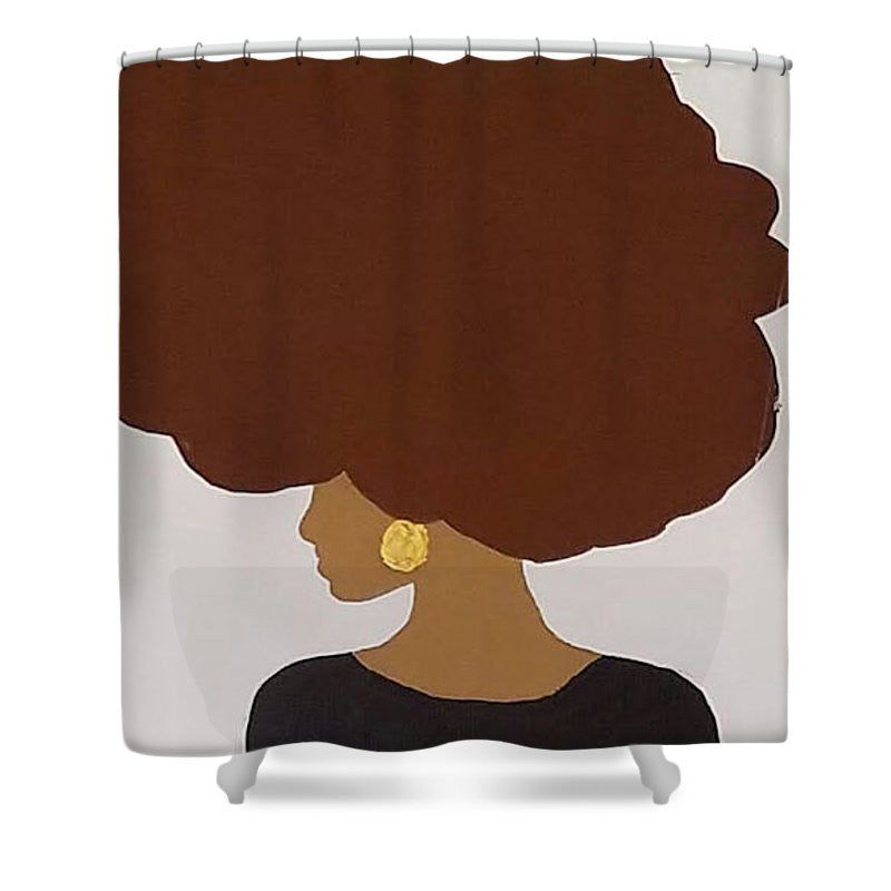 Shower Curtain - Afro Love