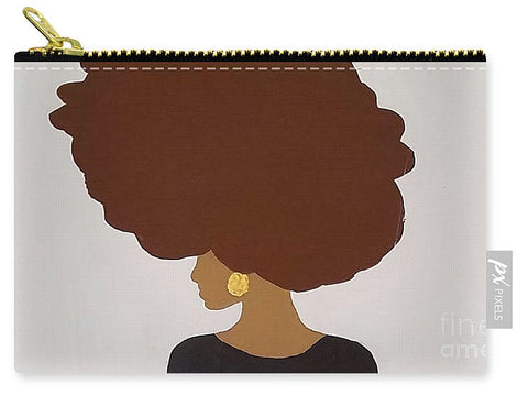 Carry-All Pouch - Afro Love