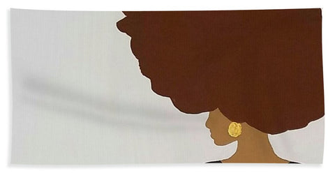 Afro Love - Beach Towel