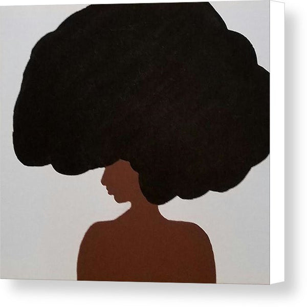 Canvas Print - Afro Love II