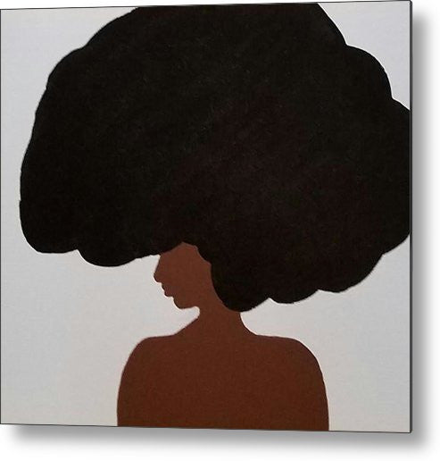 Metal Print - Afro Love II