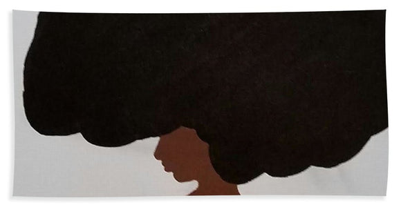 Afro Love II - Beach Towel