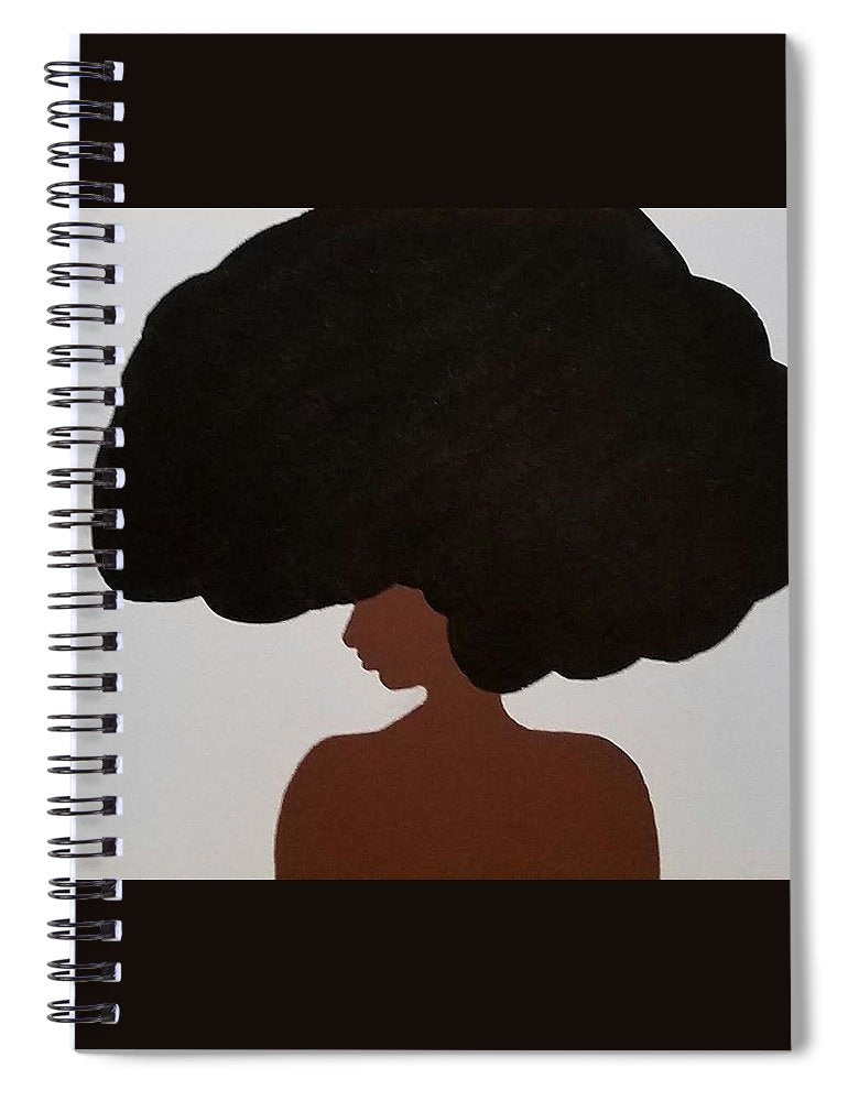 Afro Love II - Spiral Notebook