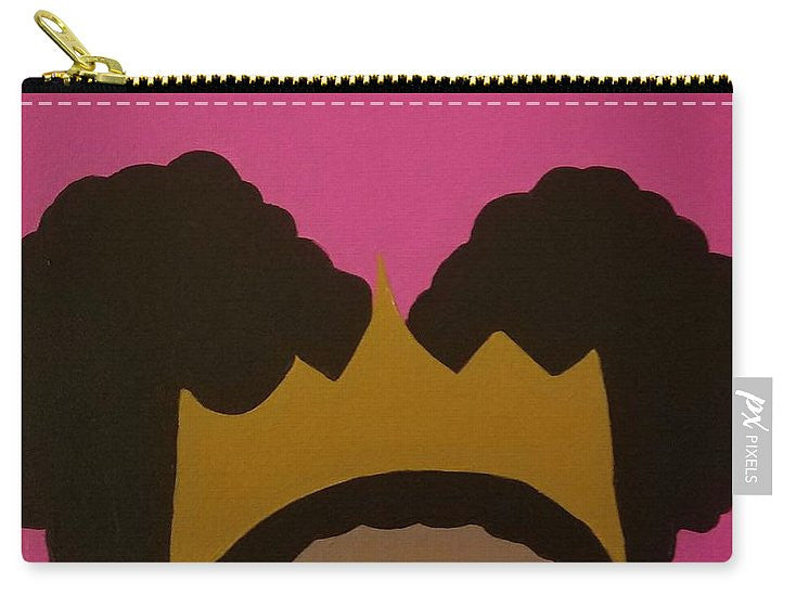 Afro Puff Princess - Carry-All Pouch