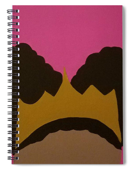 Afro Puff Princess - Spiral Notebook