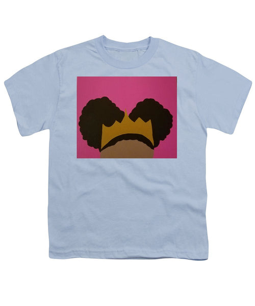 Afro Puff Princess - Youth T-Shirt