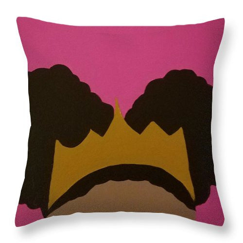 Afro Puff Princess - Throw Pillow