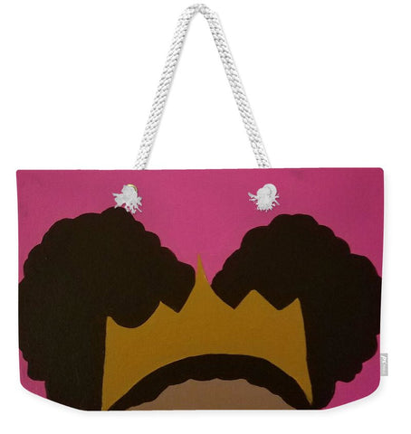 Afro Puff Princess - Weekender Tote Bag