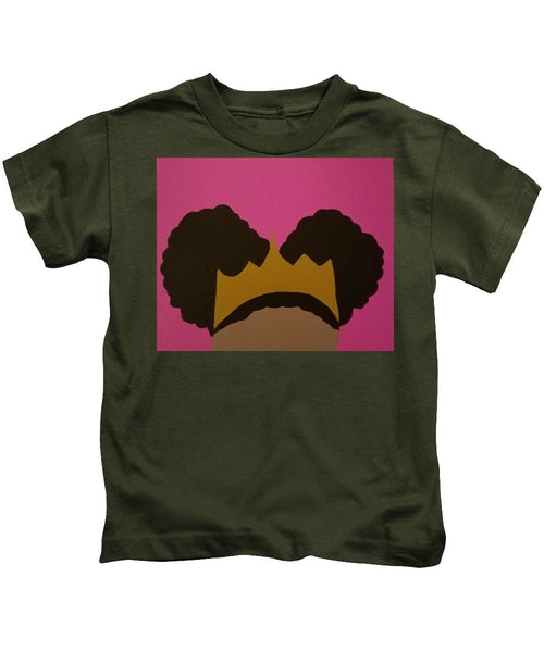 Afro Puff Princess - Kids T-Shirt