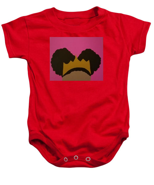Afro Puff Princess - Baby Onesie