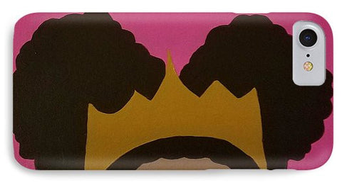 Afro Puff Princess - Phone Case