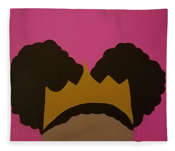Afro Puff Princess - Blanket