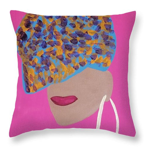 Amaya - Throw Pillow