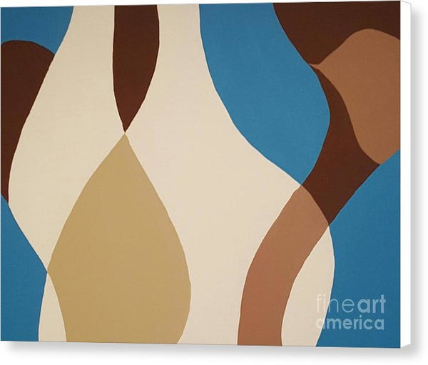 Canvas Print - Aqua Flow