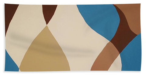 Aqua Flow - Beach Towel