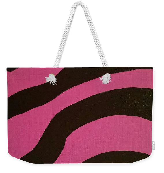 Weekender Tote Bag - Wild Side Pink