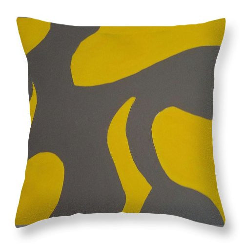 Grey Area - Throw Pillow
