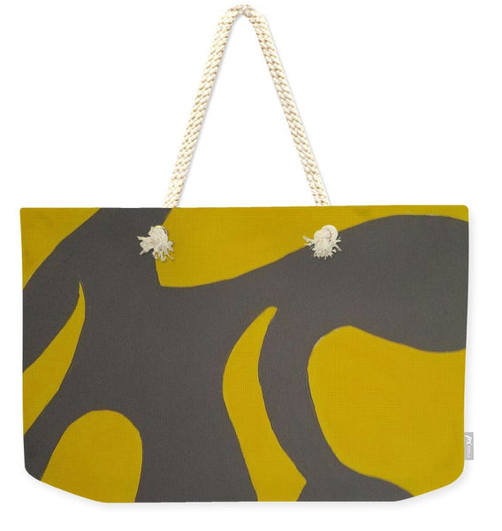 Grey Area - Weekender Tote Bag