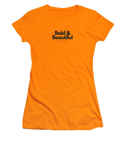Bald And Beautiful - Women's T-Shirt (Athletic Fit)