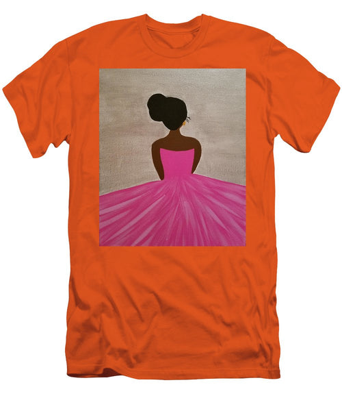 Ballerina - Men's T-Shirt (Slim Fit)
