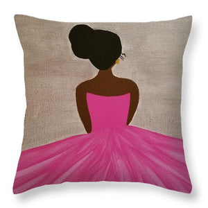 Ballerina - Throw Pillow