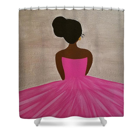 Ballerina - Shower Curtain