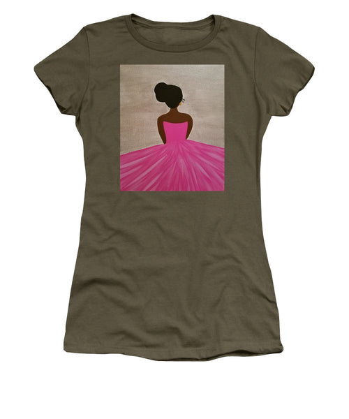 Ballerina - Women's T-Shirt (Junior Cut)
