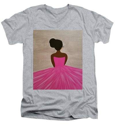 Ballerina - Men's V-Neck T-Shirt