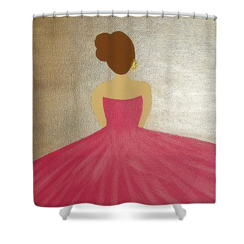 Ballerina II - Shower Curtain