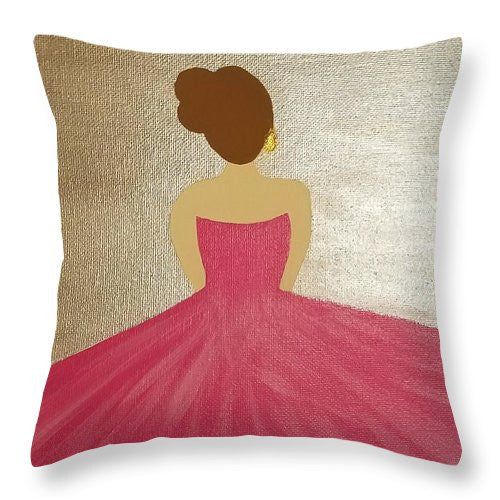 Ballerina II - Throw Pillow