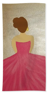 Ballerina II - Beach Towel