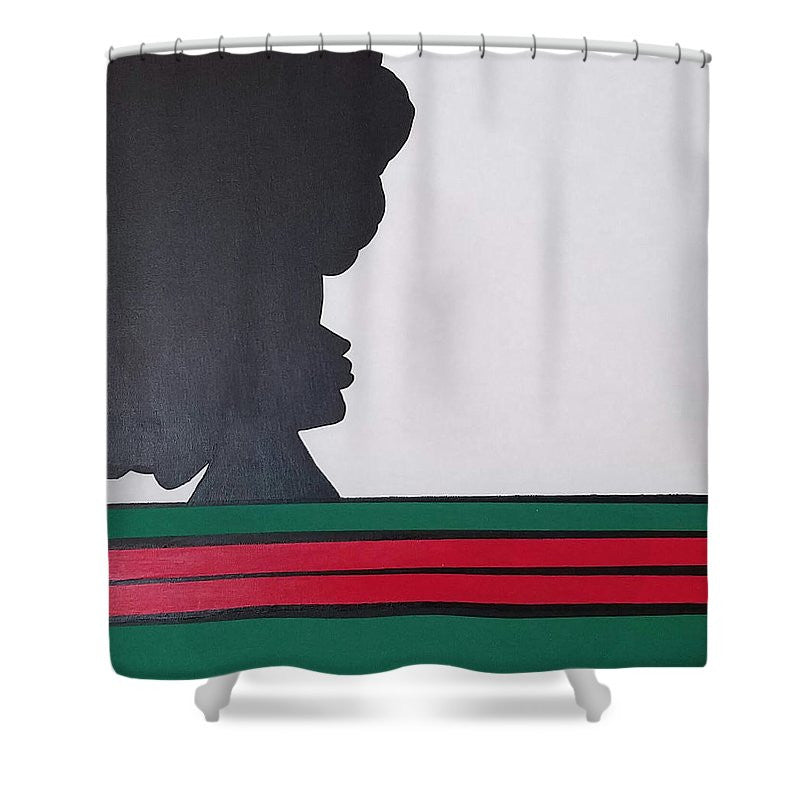 Beauty Queen - Shower Curtain