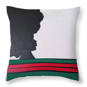 Beauty Queen - Throw Pillow