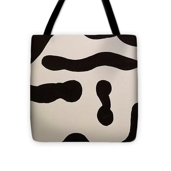 Tote Bag - Black And White