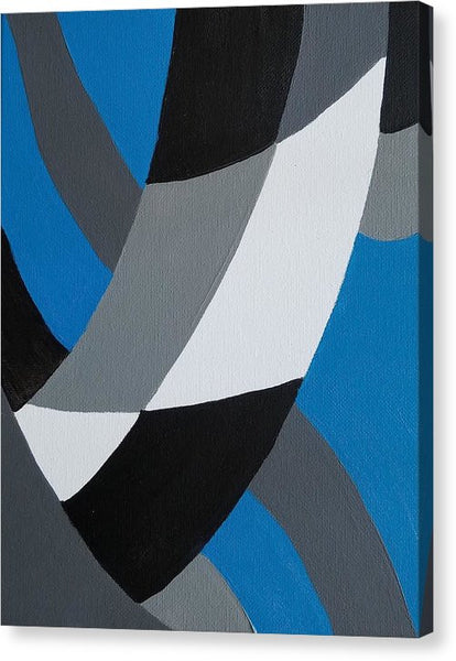 Blue - Canvas Print