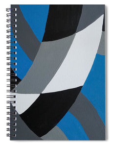 Blue - Spiral Notebook