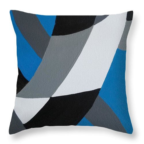 Blue - Throw Pillow