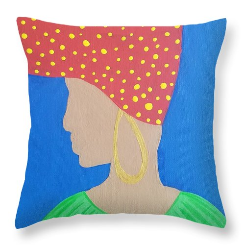 Carmen - Throw Pillow