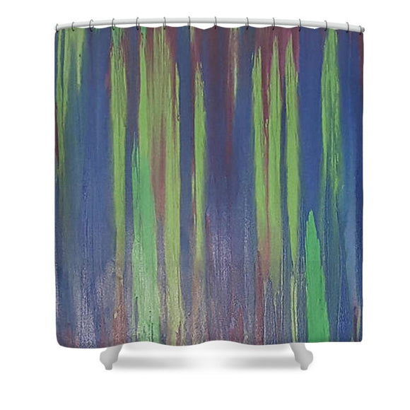 Shower Curtain - Color Run