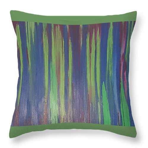 Throw Pillow - Color Run